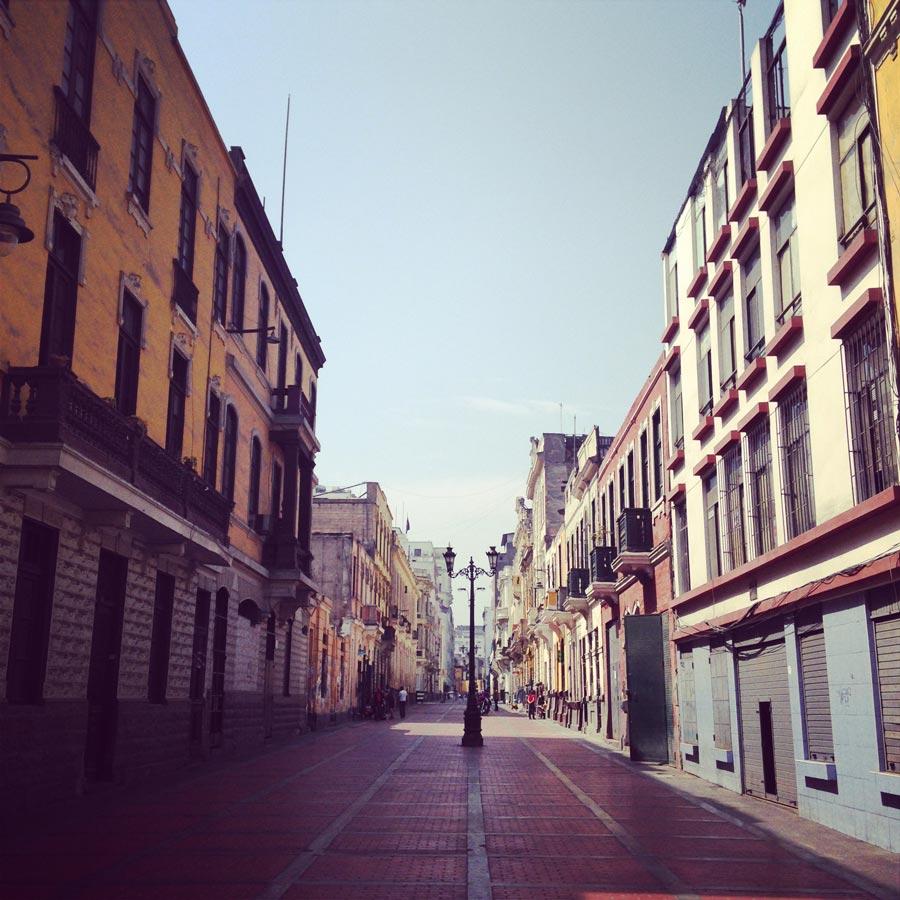 リマ旧市街