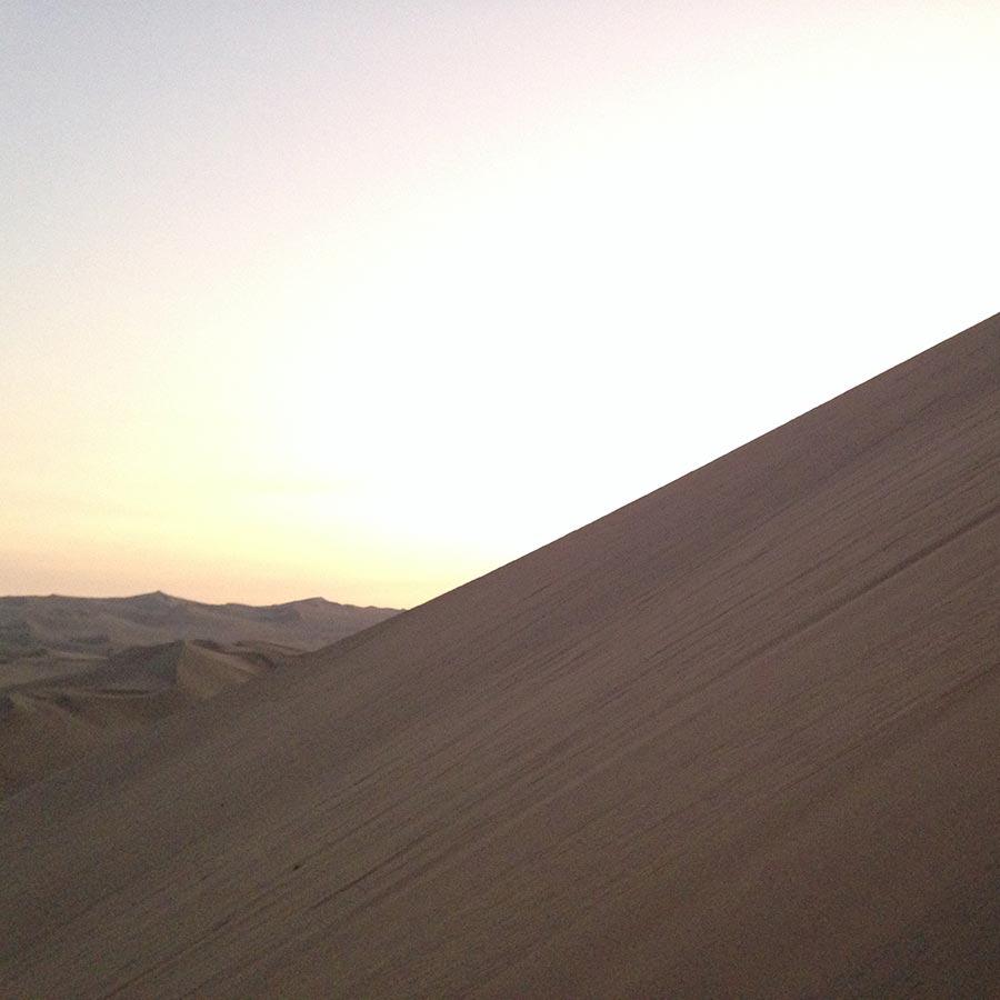 砂山の勾配