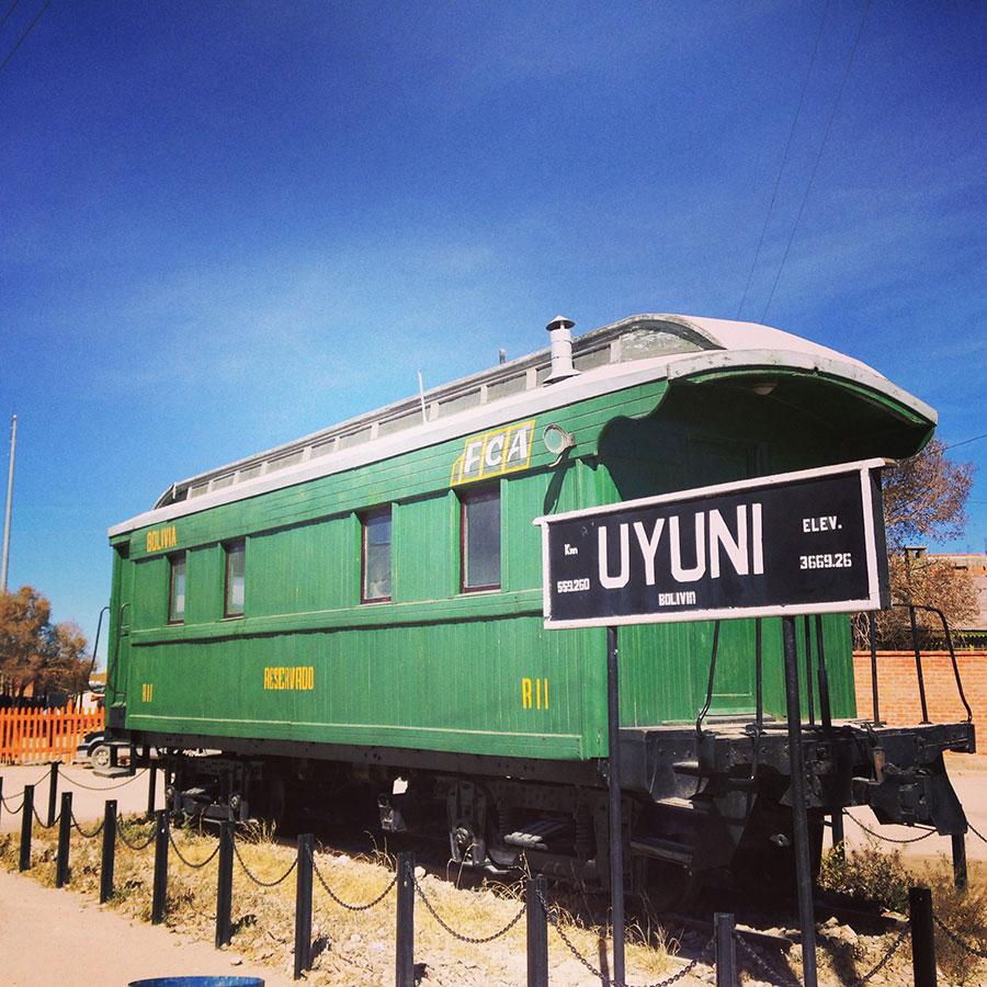 UYUNIの電車