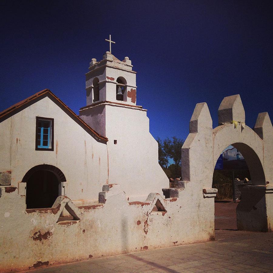 サンペドロ・アタカマの教会