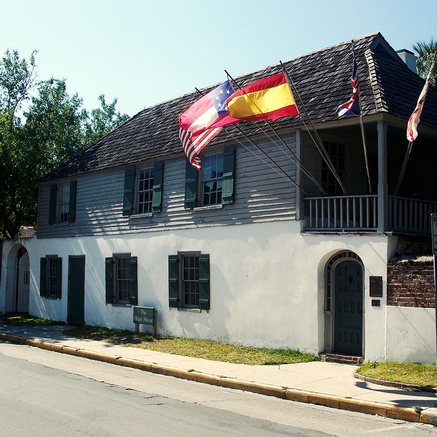 セント・アガスティンのThe Oldest House