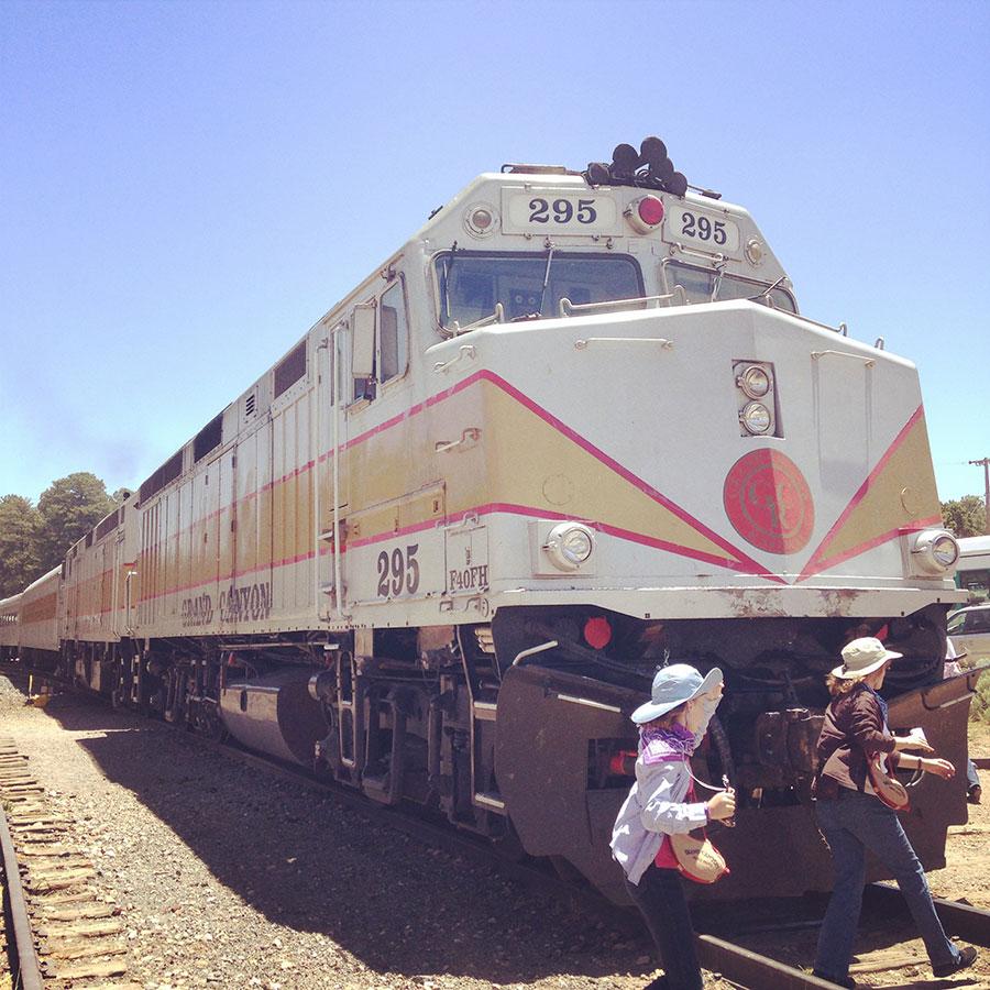 グランドキャニオンの電車。
