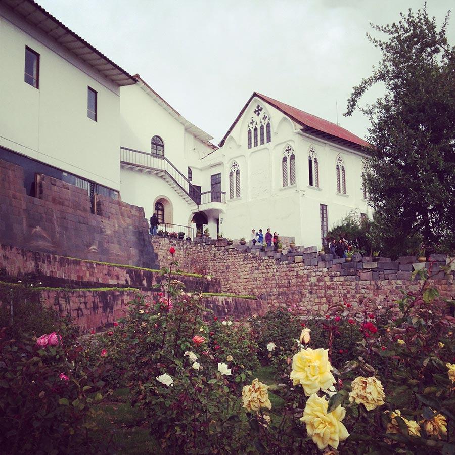 クスコのお城
