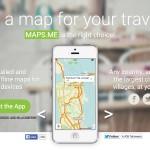 海外旅行の絶対必需アプリ!オフラインでもGPSが働くMAPS.ME