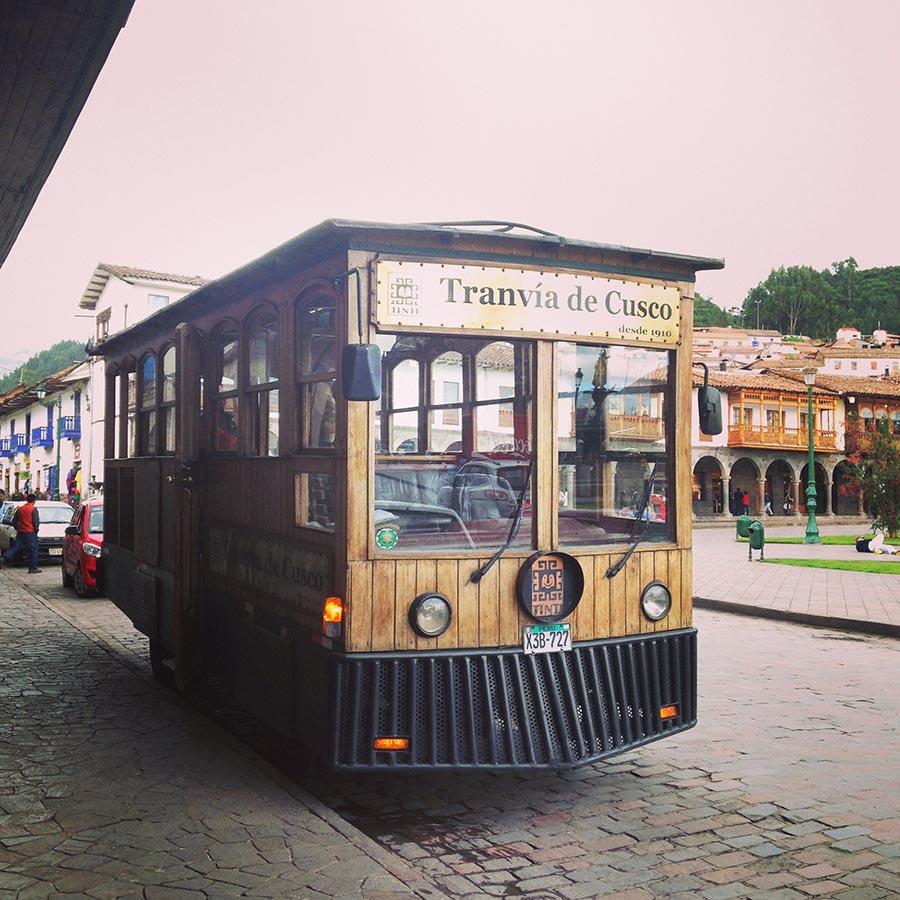 クスコのあるマス広場
