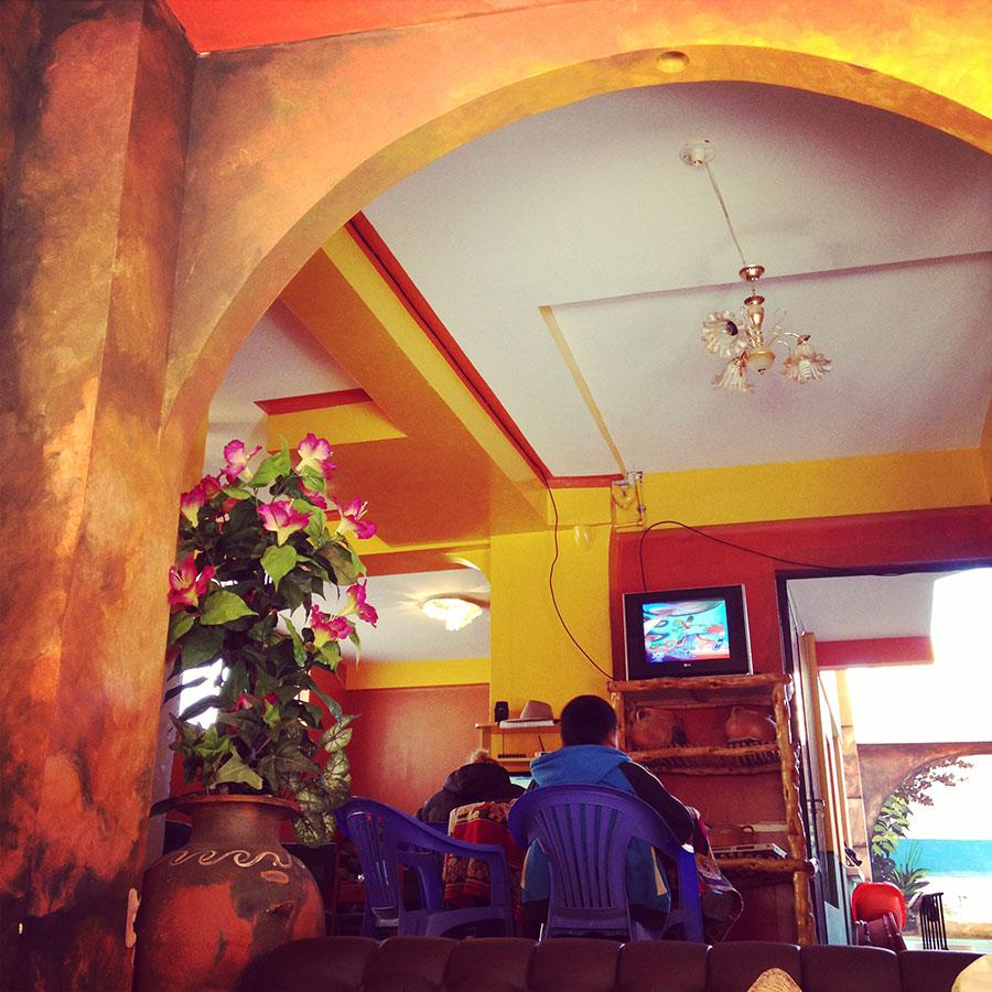 コパカバーナのホテル。