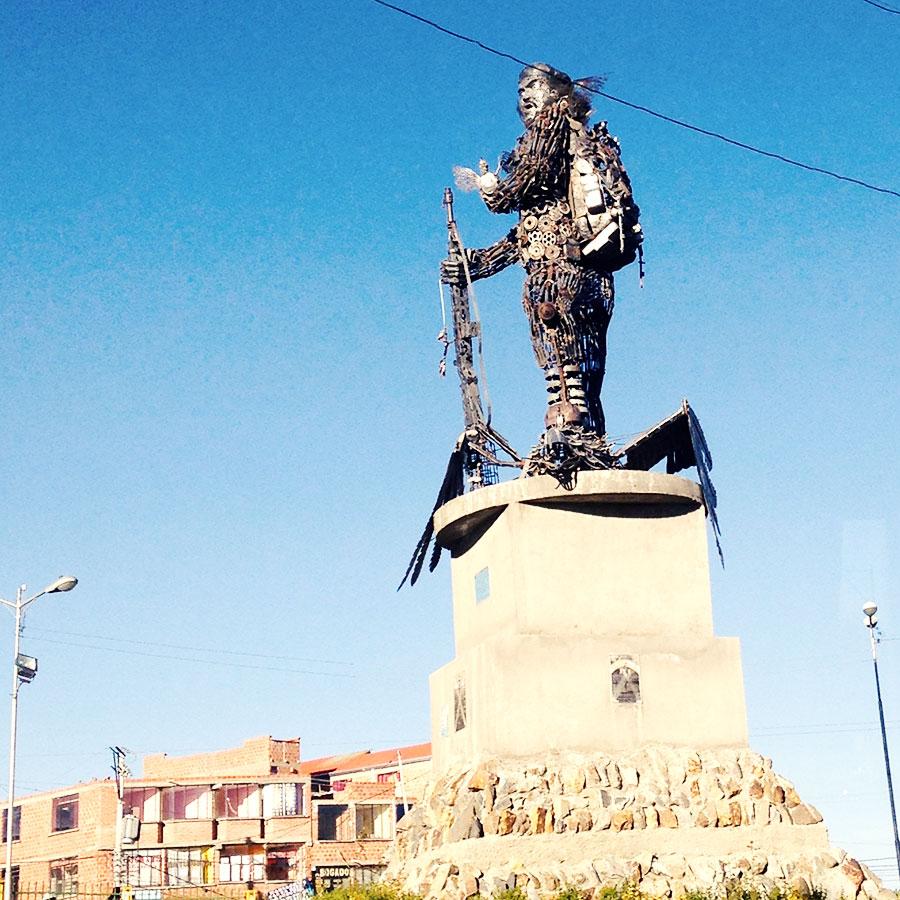 チェゲバラの像