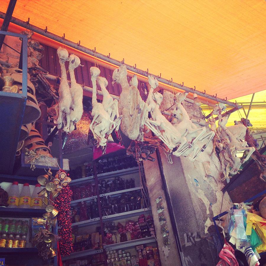 Sagatnaga通り、通称魔女通りのお店。