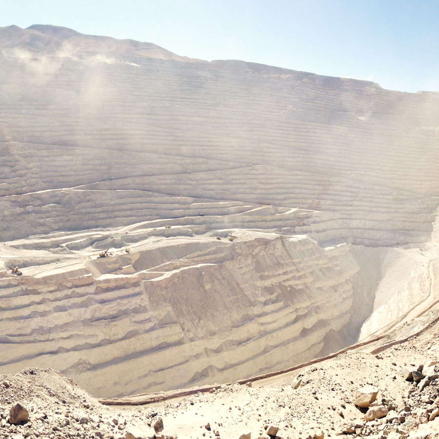 Chuquicamata - チュキカマタ銅山