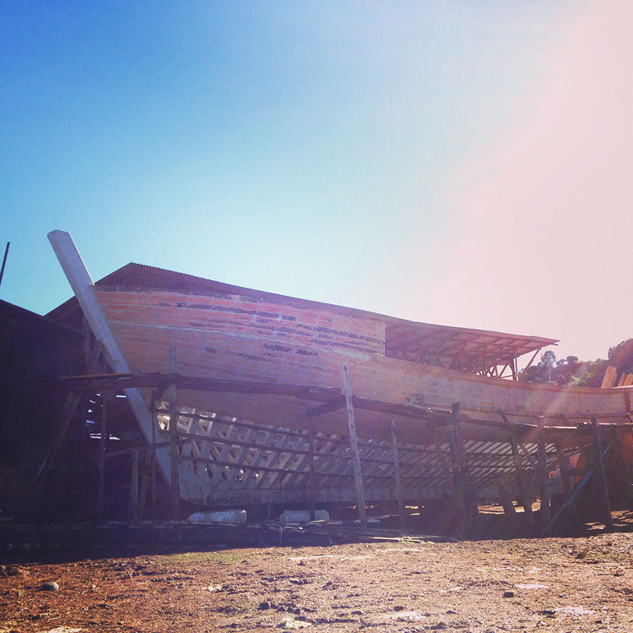 Calenの造船所。