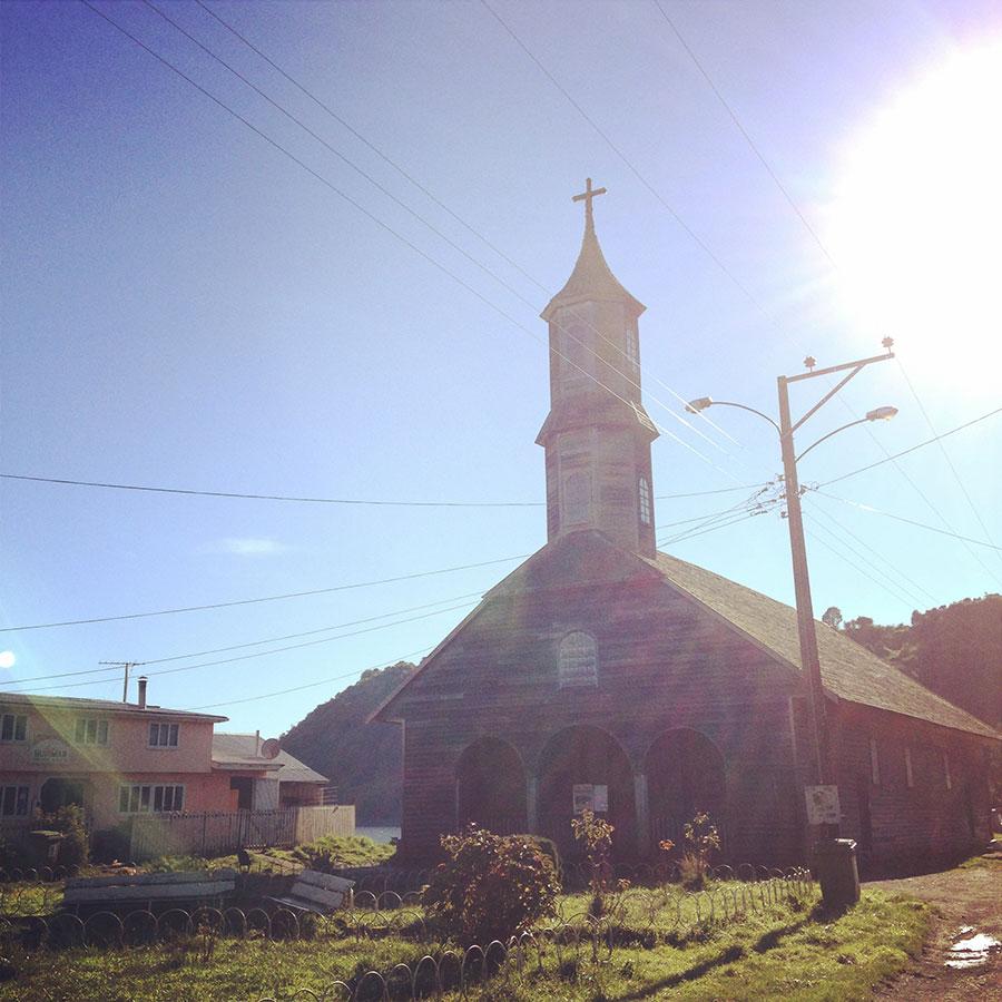 チロエ島、San Juanの教会