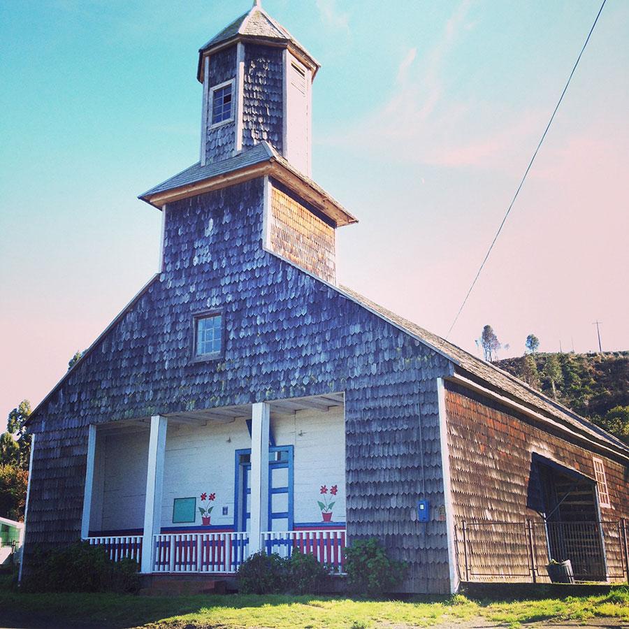 チロエ島の教会、Calen。
