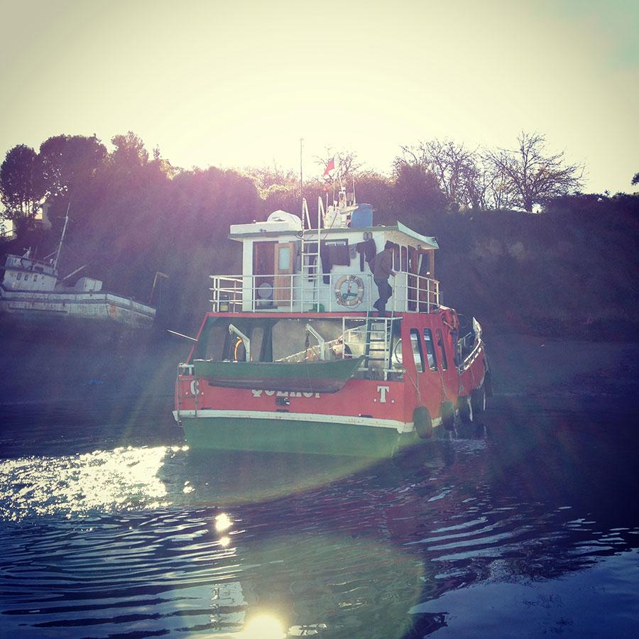 おしゃれなボート