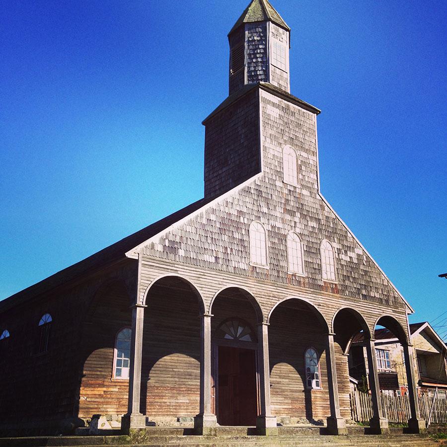 チロエ島の教会 Santa Maria