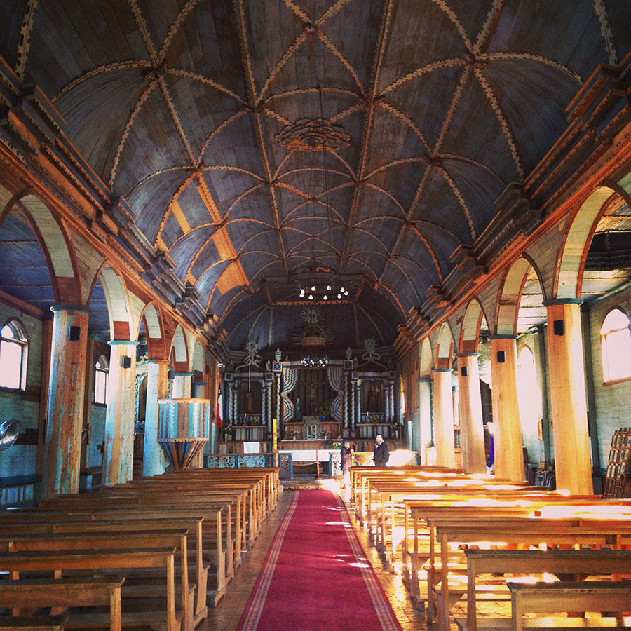 Santa Maria教会の中