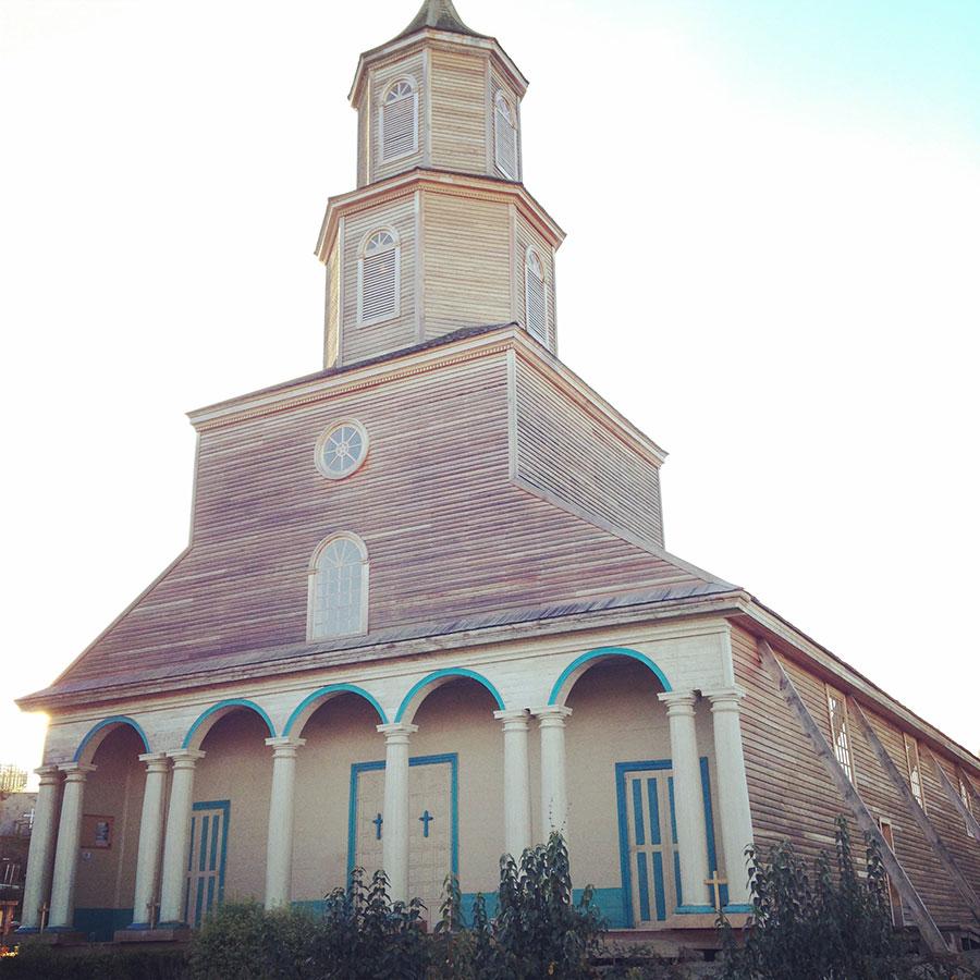 チロエ島の教会 Nercon