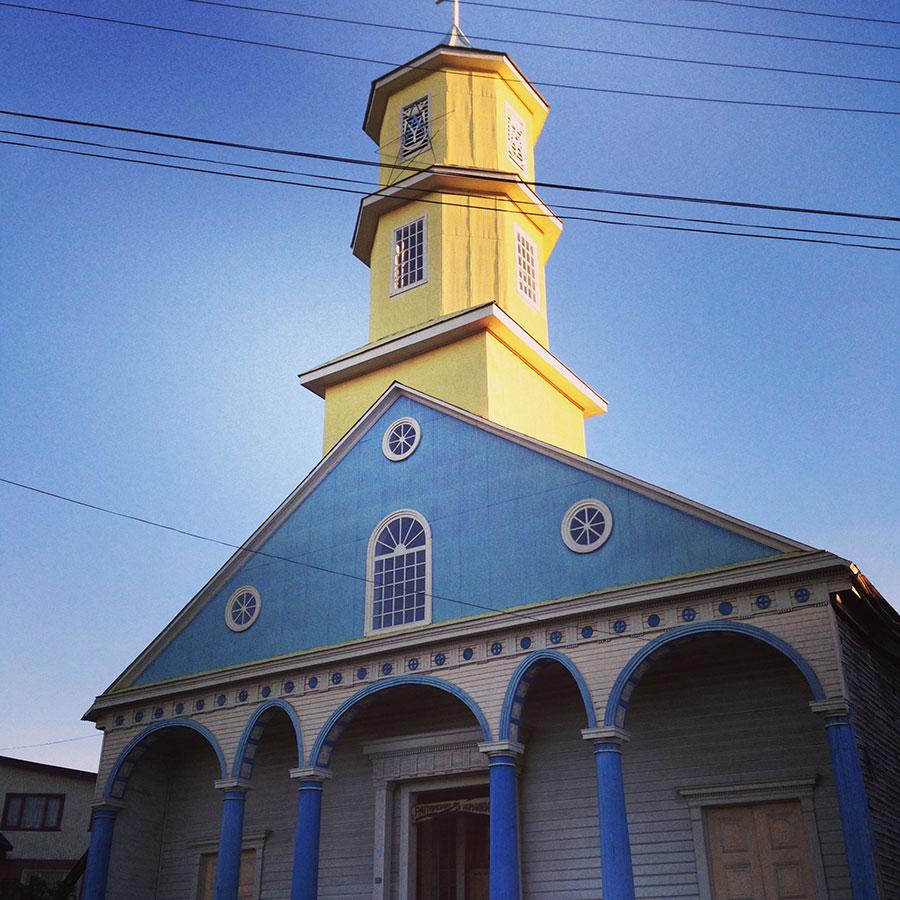 チロエ島の教会 Iglesia de Chonchi