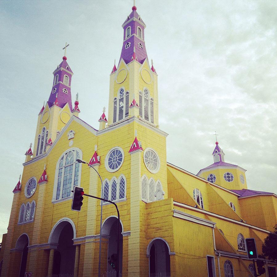 チロエ島の教会 Iglesia de Francisco