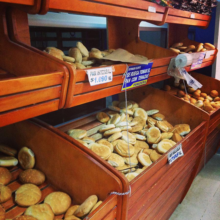 南米のパン販売方式。