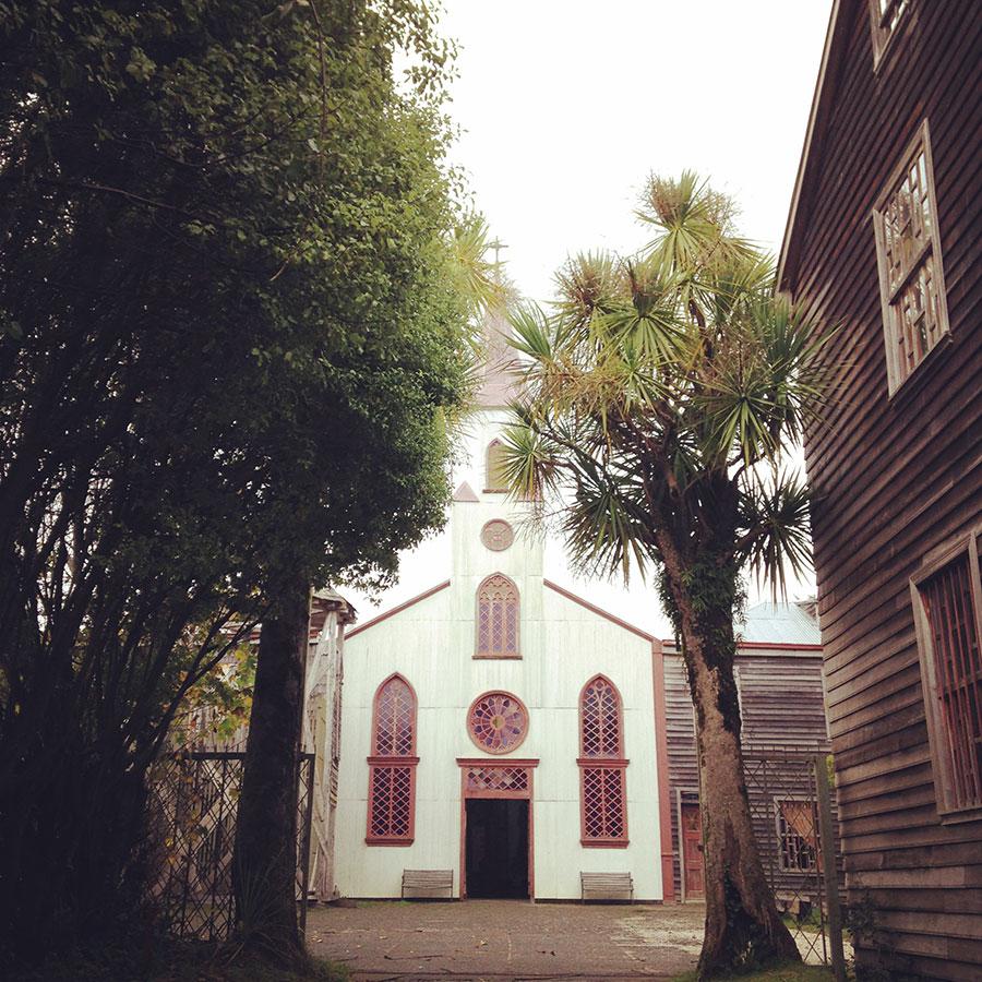 アンクッドの教会。