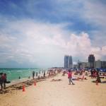 アメリカ横断0日目:南米旅行の疲れをエメラルドグリーンなマイアミのビーチで癒す。