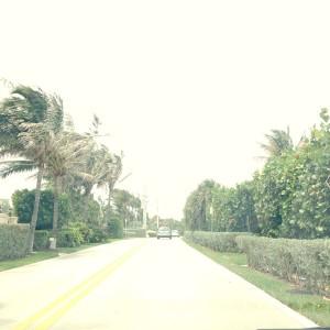 アメリカ横断1日目:ドキドキのドライブ開始。ブラッドピッドの別荘を通り過ぎる。