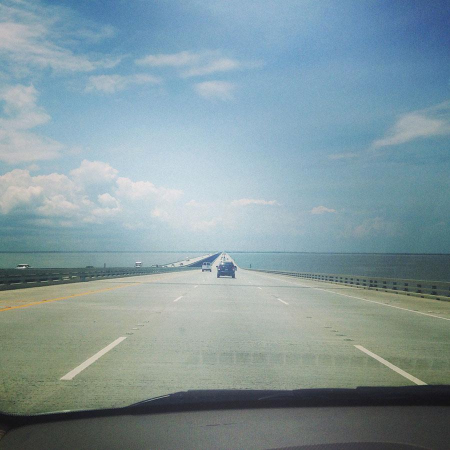 ニューオリンズにかかる橋