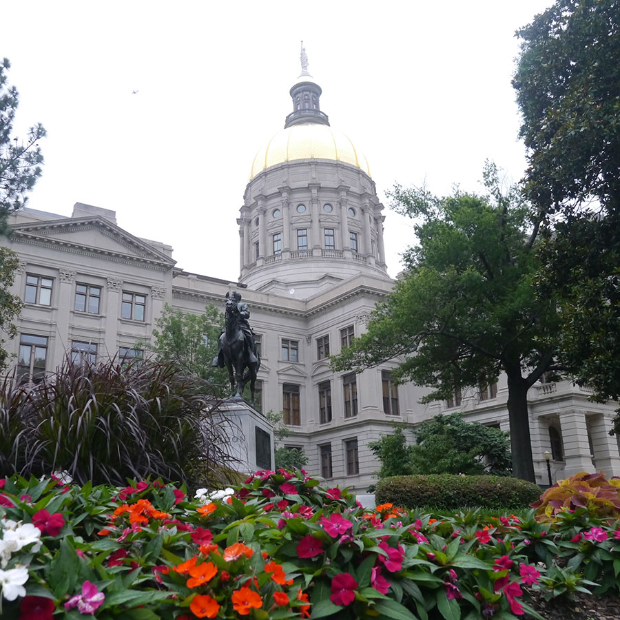 州議事堂。