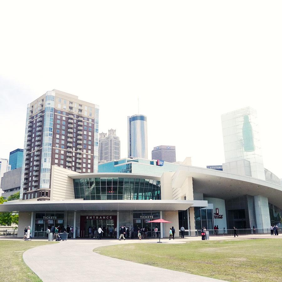 アトランタのコカ・コーラミュージアム。
