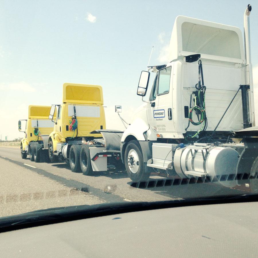 3連の頭だけトラック