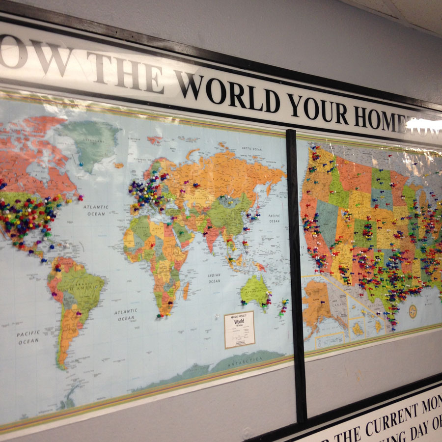 世界中からロズウェルを訪れた人々