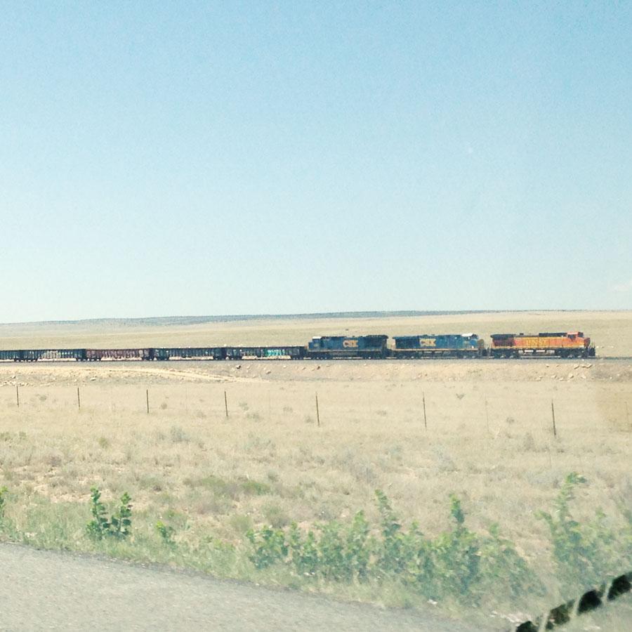 3キロ以上の長さ列車