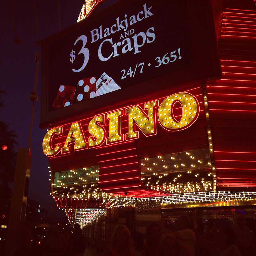 ラスベガス旧市街のカジノ