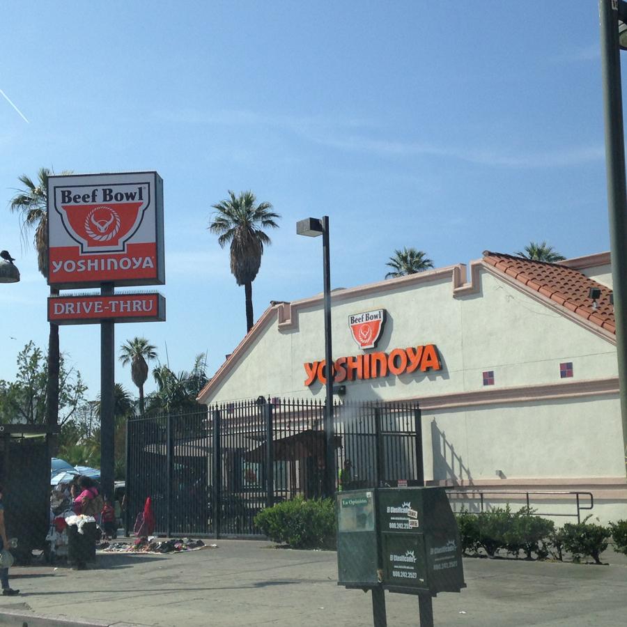 ロサンゼルスのYOSHINOYA