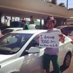 アメリカ横断14日目:I made it!! drove 7500km!