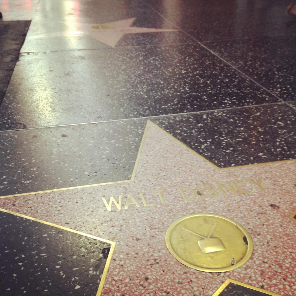 ハリウッドの有名人の星マーク