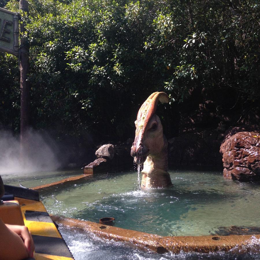 ジュラシックパークの恐竜